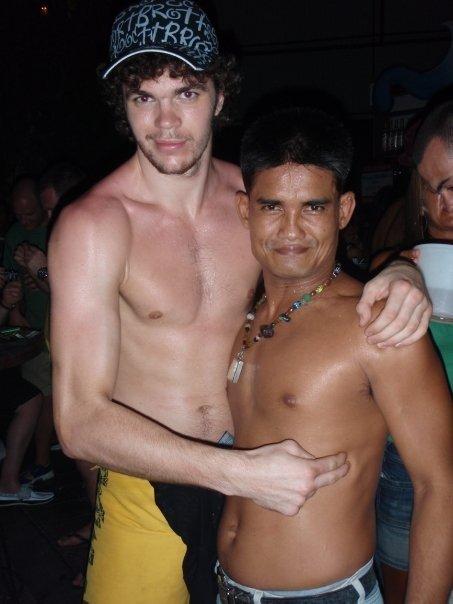at Green Mango party