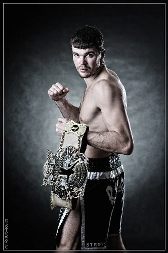 It's Showtime World champion portrait