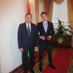 Виталь Гурков получил звание Заслуженного мастера спорта