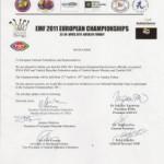 Приглашение на чемпионат Европы по тайскому боксу
