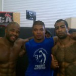 (English) Rashad Evans Training with Cosmo Alexandre and Tyrone Spong