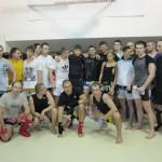 Артем Левин провел в Москве практический семинар по тайскому боксу