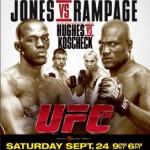 Постер UFC 135: Jones vs Rampage