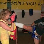 Специалисты по тайскому боксу: Когда ты в хорошей форме, ни один хулиган к тебе не сунется!