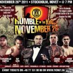 Йодсенклай против Кишенко и Аскеров против Хаджа будут на Драке Королей в Швеции 26 ноября