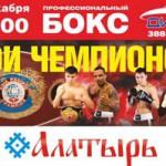 """ТРЦ """"Алатырь"""" представляет Бои чемпионов!"""