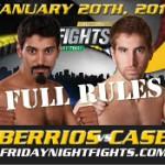 (English) Full Rules Muay Thai in New York, Alex Berrios vs. Ben Case headline Friday Night Fights Muay Thai January 20th, 2012