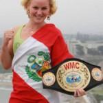 Валентина Шевченко, Чемпион мира по тайскому боксу, претендует на гражданство Перу