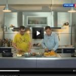 Спортивная кухня. Картофель с лисичками от Сергея Бусыгина (видео)