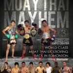 Результаты Muay Thai Mayhem 3