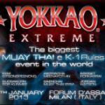 Результаты Yokkao Extreme 2013