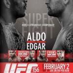 Результаты UFC 156: Aldo vs. Edgar