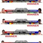Результаты K-1 World Grand Prix Moldova