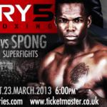 Итоговая файткарта Glory 5 в Лондоне 23 марта