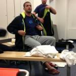 Фото дня: Бадр Хари получил травму ноги