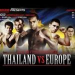 Официальный проморолик Thailand VS Europe 2013