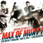 Презентация турнира MAX Muay Thai 2013