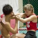 17-летняя омская спортсменка Анастасия Анфиногенова вернулась из Таиланда с победой