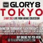 Файткарта GLORY 8 Tokyo