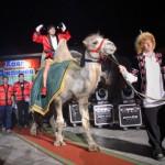 Чемпион Европы по тайскому боксу Хаял Джаниев выехал на супербой верхом на верблюде