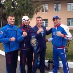 На базе «Озеро Крулое»: Хузин, Вахитов, Дрозд и Левин