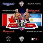 Ultra Elite Fighters 15 декабря: Саймон Маркус против Дэмиана Бухана