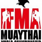 Логотип и талисман чемпионата мира по тайскому боксу 2014 в Малайзии
