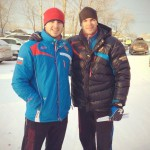 Кадр: Чемпионы Левин и Вахитов