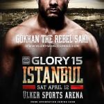Постер GLORY 15 в Стамбуле 12 апреля