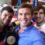 Три чемпиона мира по тайскому боксу