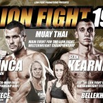 (English) Lion Fight 19 Card for November 21st
