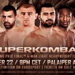 В субботу SuperKombat проведет финал Гран При 86 кг