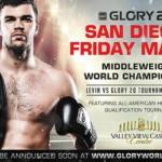 Официально: 8 мая на GLORY 21 в Сан Диего действующий чемпион Артем Левин против победителя четверки в Дубае.