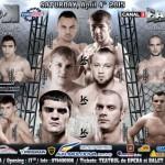 Лащенко и Ток разыграют титул КОК. Файт-кард турнира КОК в Молдове.