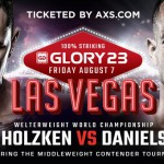 (English) GLORY 23 Las Vegas: Fight Card