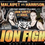Файт карта LION FIGHT 23