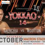 Саенчай – Грег Вуттон – главный бой Yokkao 14