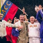 Поздравляем с днем рождения чемпиона мира по боксу и тайскому боксу, Президента Федерации тайского бокса Москвы Григория Анатольевича Дрозда