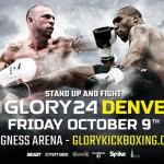 Файткарта Glory 24: Denver 9 октября