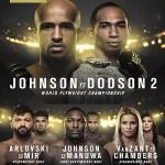 Прямая трансляция UFC 191: Johnson vs. Dodson 2