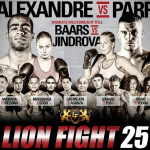 Файткарта Lion Fight 25 23 октября в Темекуле