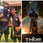 Идрис Эльба продолжает тренировки по тайскому боксу