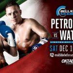 Петросян против Уотсона на Belltor Kickboxing 3 10 декабря