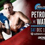 Bellator Kickboxing Petrosyan vs. Watson Florence: файткарта