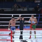 Артем Левин одержал победу над Али эль Амери