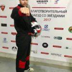 Артем Левин принял участие в благотворительных гонках