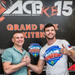 Пресс-конференция ACB KB 15