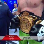 АРТЕМ ЛЕВИН стал чемпионом ACB KB